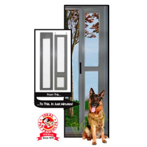 Puerta Modular Color Aluminio Ideal Pet Extragrande Perro