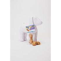 Premio Perro Carnaza En Forma De Hueso Sabor Pollo +kota