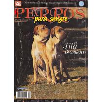 Revista De Perros Pura Sangre Fila Brasileiro Febrero 2002
