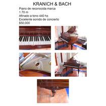 Excelente Piano Marca Kranich & Bach, Impecable, Como Nuevo