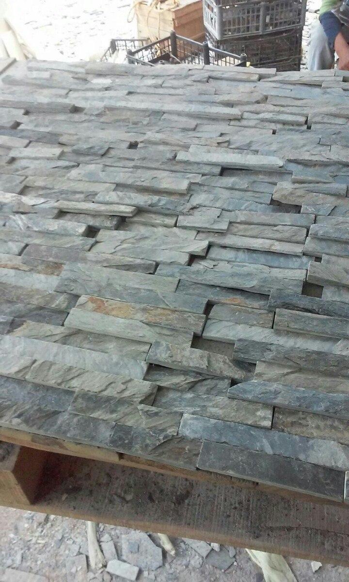 Piedra laja sintilla para fachada 5cm y3 en - Piedra para fachada exterior ...