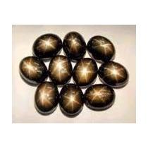 Zafiro Estrella Cabujon Black Star 100% Natural 7 Carats