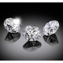 Lote 3 Diamantes Rusos De 3mm Envío Gratis