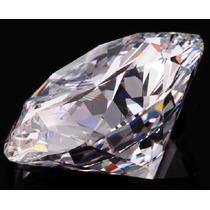 Precioso Diamante Ruso De 4mm 0.25 Cts Envio Gratis