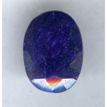 Zafiro Azul Natural Corte Oval 11.40 Ct