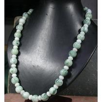 Collar En Jade Verde