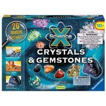Ravensburger Ciencia X Cristales Y Piedras Preciosas Juego D