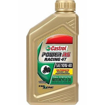 Aceite Sintetico Castrol Power Rs Racing 4t 10w-40 946 Ml.
