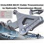 Civic Crx 88 - 91 Swap B18 Cable Hidro Swap Caja Bracket Jdm