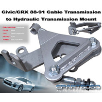 Civic Crx 88 - 91 Swap B18 Cable Hidro Swap Caja Bracket Jdm