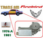 76-81 Pontiac Firebird Motor Electrico Elevador Izquierdo