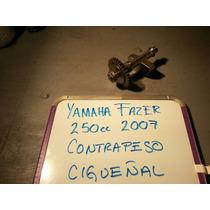Yamaha Fazer 250 2007 Contrapeso Cigueñal