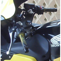 2 Manillares Clips Mandos Puños Honda Cbr 600 F4i + Envio