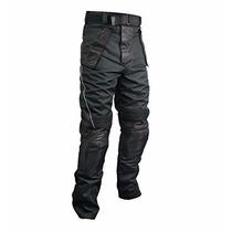 Pantalones Para Motociclista Xelement Tri-tex Y Cuero
