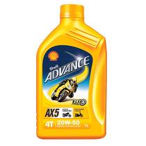 Aceite Shell 20w-50 4t Caja 12pzs.