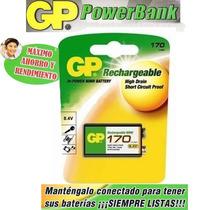 Bateria O Pila Gp Recargable 9v De 170mah