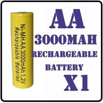 Pilas Baterias Recargables A A 3000mah Ni-mh