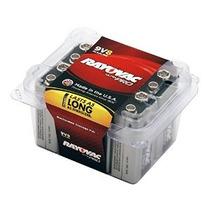 Rayovac Alcalina 9v Baterías 8-pack Con Tapa Recloseable (al