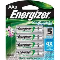 Baterías Recargables Energizer Power Plus Nimh Aa, De 8 De R