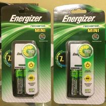 Cargador Y Baterias Recargables Energizer Aa Y Aaa 2 Pilas