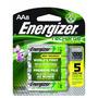 Energizer Nh12bp-4 Recargable Nimh Aaa 8 Unidades Dhl Gratis