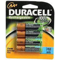 Baterías Duracell Recargables Aa 4 Count (packaging Puede Va