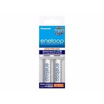 Eneloop Paquete 2 Baterias Aa 2100 Recargas Con Cargador
