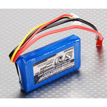 Bateria Pila Lipo 500mah 7.4v 2s 20c Turnigy