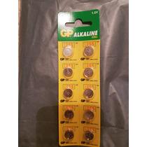 10 Pila Bateria Alcalina Gp Lr55 191 - C10 Calculadora Reloj