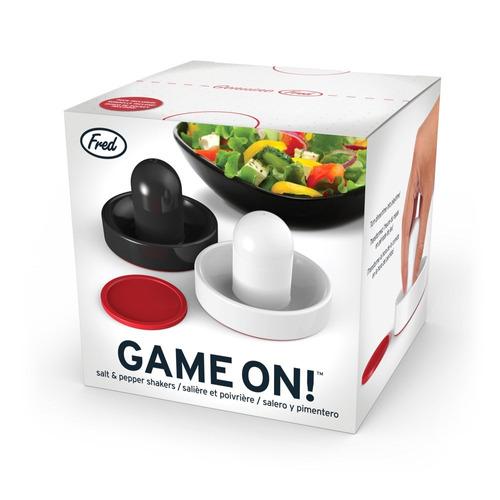 Salero y pimentero dise o juego hockey sobre hielo cocina for Saleros de cocina