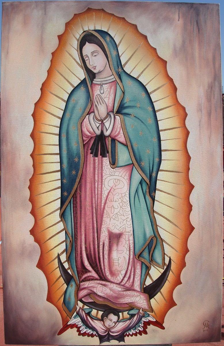 Virgen de Guadalupe: Dos imágenes que desmienten