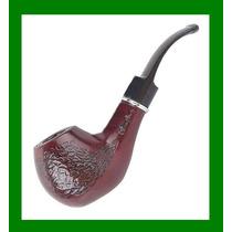 Pipa Madera Fumar Tabaco, Rosewood Bent Carved