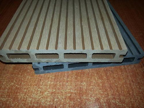 Pisos De Bambu Para Baño:Piso Deck Para Exterior De Wpc Con Fibra De Bambu – $ 91990 en