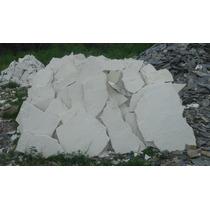 Piedra Laja Blanca Galarza Rustico Entrega Inmediata