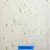 Laminado De Cantera Blanco Limon / Verde Limon