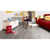 Piso Laminado Tekno Step Skycraper View 7mm Colocado