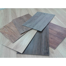 Duela Ancha De Vinyl Pvc Acabado Madera Super Durable De 3mm