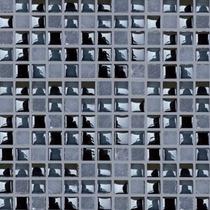 Malla Mosaico Negro 30x30cm 8mm Castel Azulejo Para Baños