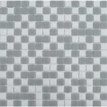 Piso Azulejo Veneciano Albercas Combinado Gris Castel 2x2