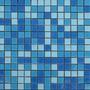 Mosaico Veneciano Combinado Azules Castel Albercas Jacuzzis