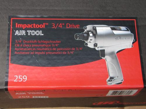 Pistola Neumatica 3/4 Marca Ingersoll Rand 259 Impacto Ir
