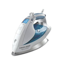 Black & Decker - All-temp Steam Plancha De Vapor - Blanco