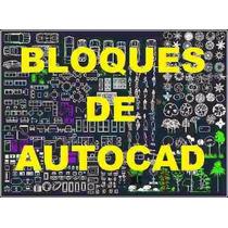+10.000 Bloques Libreria Autocad 2d - 3d Dibujos