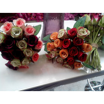 Bouquet Ramo De Rosas Artificiales