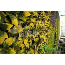 Follaje Plantas Muro Verde Enredaderas Artificial/sintetico