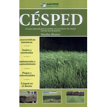 Césped Pasto Artificial Sintético Natural Semillas - Libro