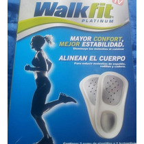 Plantillas Walk Fit Platinum Talla 3 Y 4