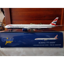Avion Boeing 777-300er British Airways Esc 1:400 Gemini Jets