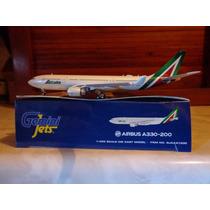 Nuevo Avion A330-200 De Alitalia En Escala 1:400 Gemini Jets