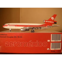 Precioso Avion Dc-10-30 De Aeromexico Esc 1:400 Gemini Jets